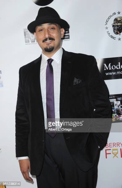 Actor Adam Mendoza arrives for the Premiere Of 'Hey Mr Postman' held at Laemmle's Ahrya Fine Arts Theatre on June 21 2018 in Beverly Hills California