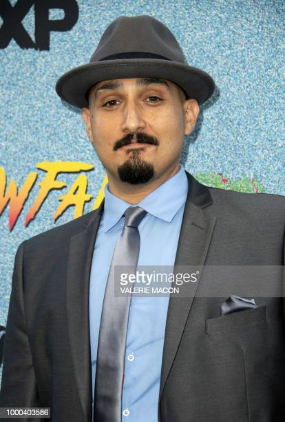Actor Adam Mendoza attends FX's 'Snowfall' Season 2 premiere on July 16 in Los Angeles