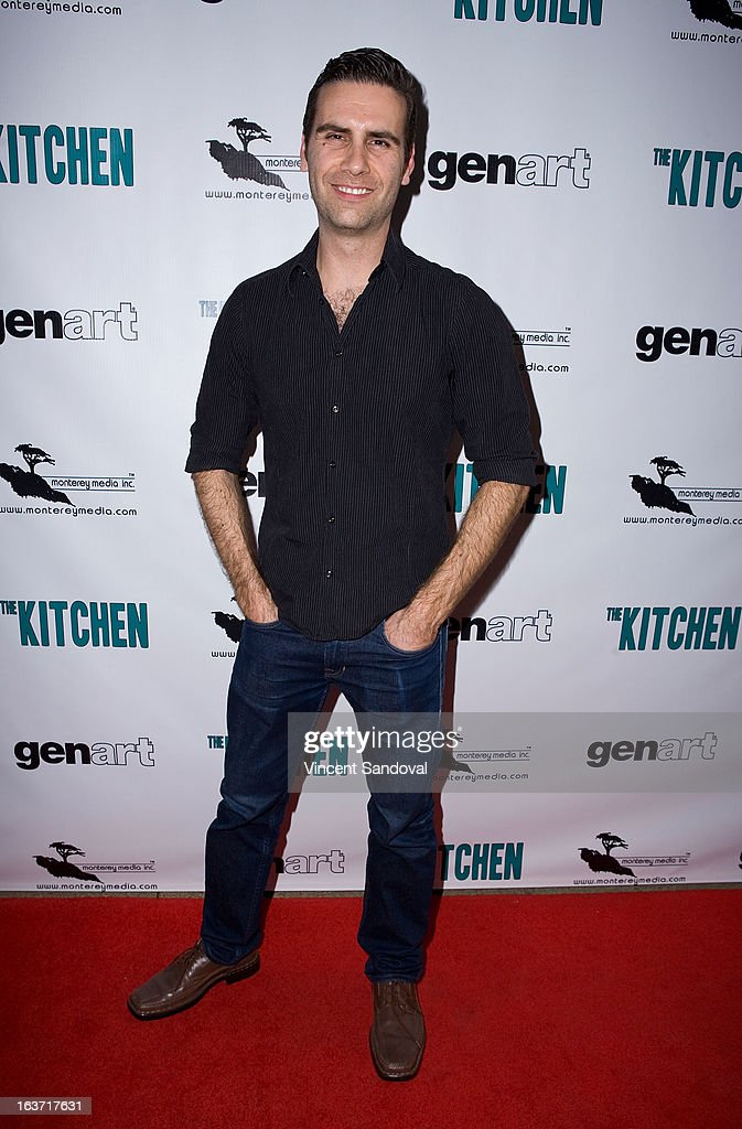 Actor Adam Michael Rose attends the Los Angeles premiere of 'The Kitchen' at Laemmle NoHo 7 on March 14, 2013 in North Hollywood, California.