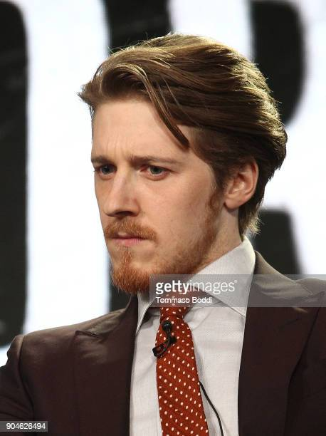 Actor Adam Nagaitis of the television show The Terror speaks onstage during the AMC portion of the 2018 Winter Television Critics Association Press...