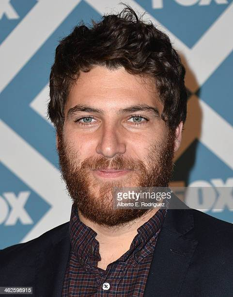 Actor Adam Pally arrives to the 2014 Fox AllStar Party at the Langham Hotel on January 13 2014 in Pasadena California