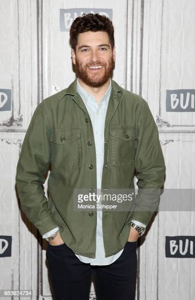 Actor Adam Pally attends Build Series Presents Adam Pally Discussing Making History at Build Studio on March 15 2017 in New York City
