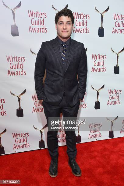 Actor Adam Pally attends the 70th Annual Writers Guild Awards New York at Edison Ballroom on February 11 2018 in New York City