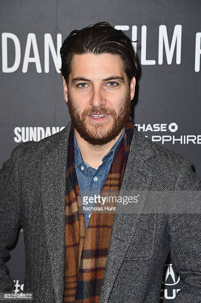 Actor Adam Pally attends the Band Aid Premiere at Eccles Center Theatre on January 24 2017 in Park City Utah