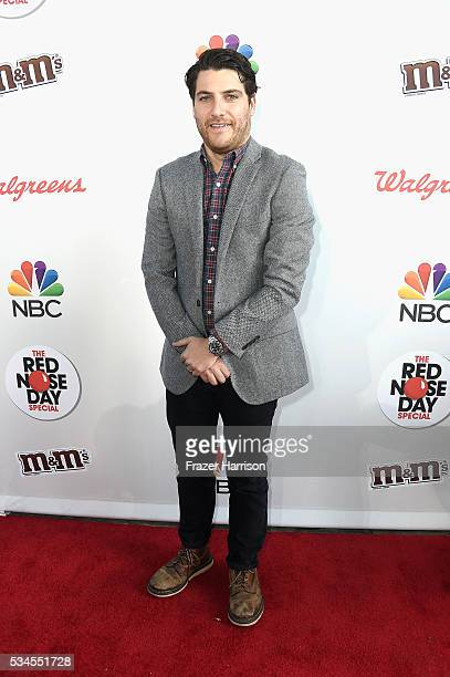 Actor Adam Pally attends The Red Nose Day Special on NBC at Alfred Hitchcock Theater at Universal Studios on May 26, 2016 in Universal City,...