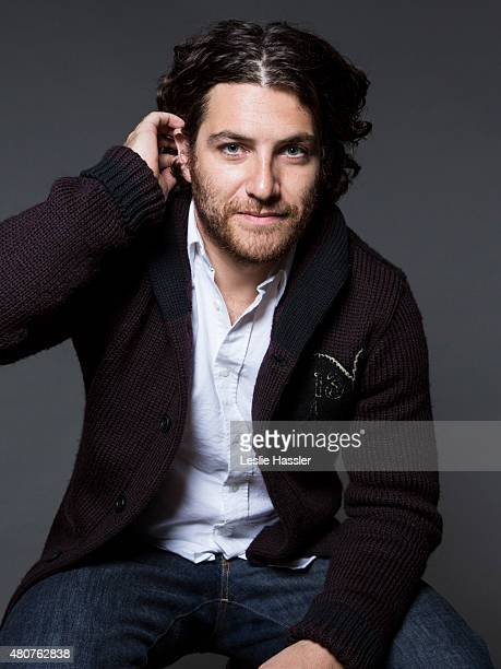 Actor Adam Pally is photographed for Self Assignment on April 20 in New York City