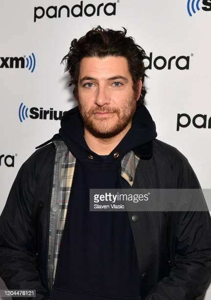 Actor Adam Pally visits SiriusXM Studios on February 06, 2020 in New York City.