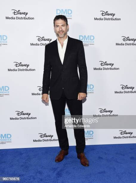 Actor Adam Rayner arrives at the Disney/ABC International Upfronts at the Walt Disney Studio Lot on May 20 2018 in Burbank California