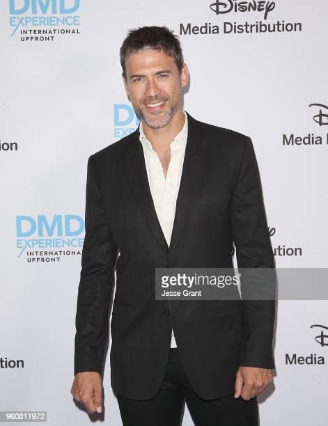Actor Adam Rayner attends the Disney/ABC International Upfronts at the Walt Disney Studio Lot on May 20 2018 in Burbank California