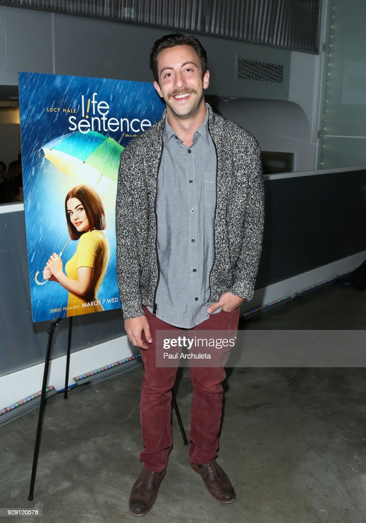 Actor Adam Rose attends the screening for the CW's 'Life Sentence' at The Downtown Independent on March 7, 2018 in Los Angeles, California.