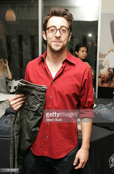 Actor Adam Rose poses at the Kari Feinstein Golden Globes Style Lounge at Zune LA on January 15, 2010 in Los Angeles, California.