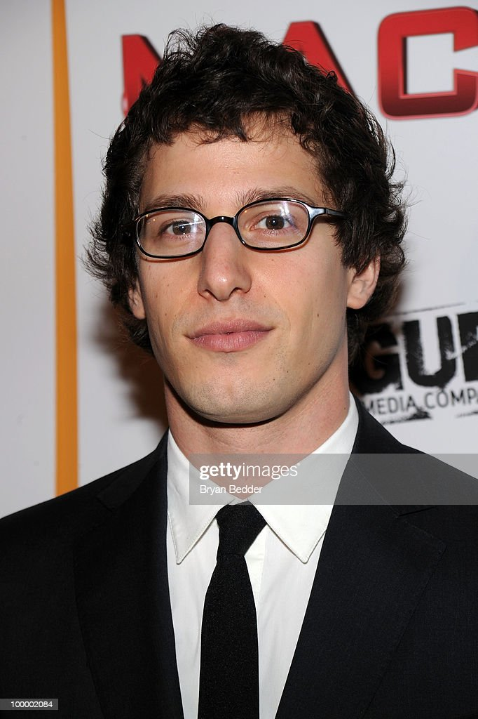 Actor Adam Sandberg attends the premiere of 'MacGruber' at Landmark's Sunshine Cinema on May 19, 2010 in New York City.