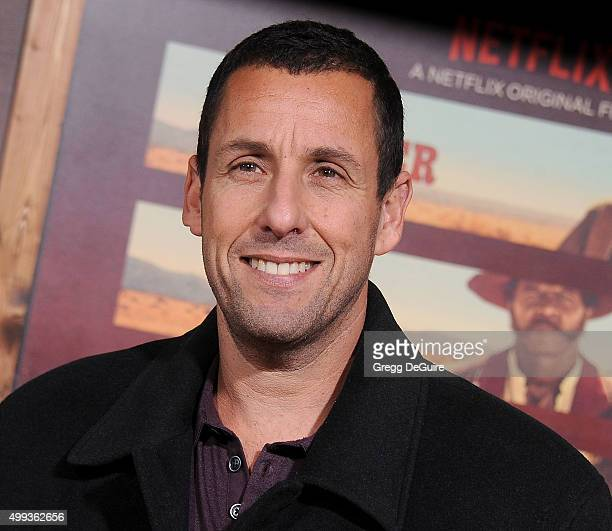 Actor Adam Sandler arrives at the premiere of Netflix's The Ridiculous 6 at AMC Universal City Walk on November 30 2015 in Universal City California