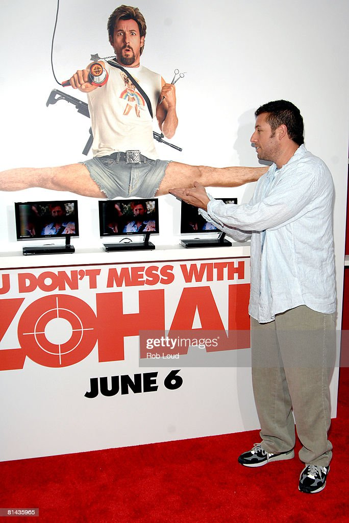 """Columbia Pictures Hosts A Screening Of """"You Don't Mess With The Zohan"""" : News Photo"""