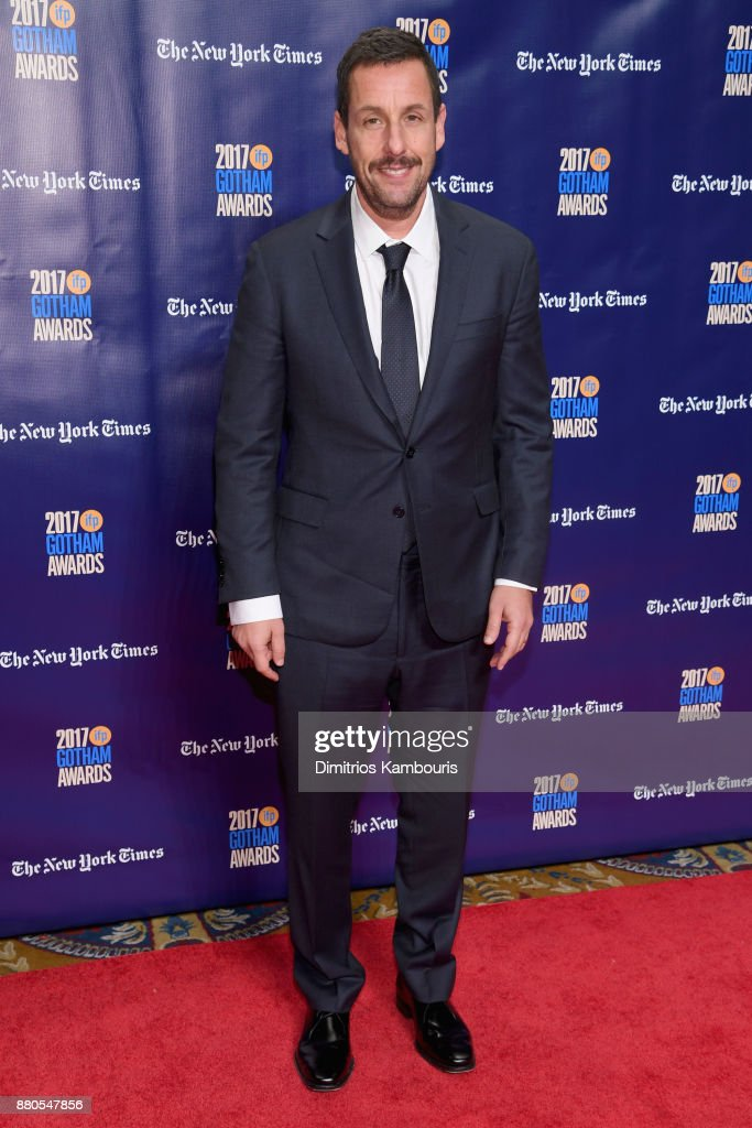 Actor Adam Sandler attends IFP's 27th Annual Gotham Independent Film Awards on November 27, 2017 in New York City.