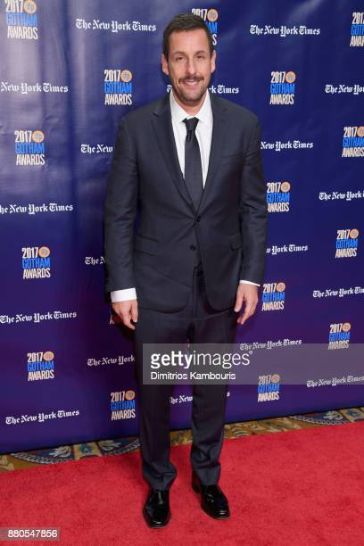 Actor Adam Sandler attends IFP's 27th Annual Gotham Independent Film Awards on November 27 2017 in New York City