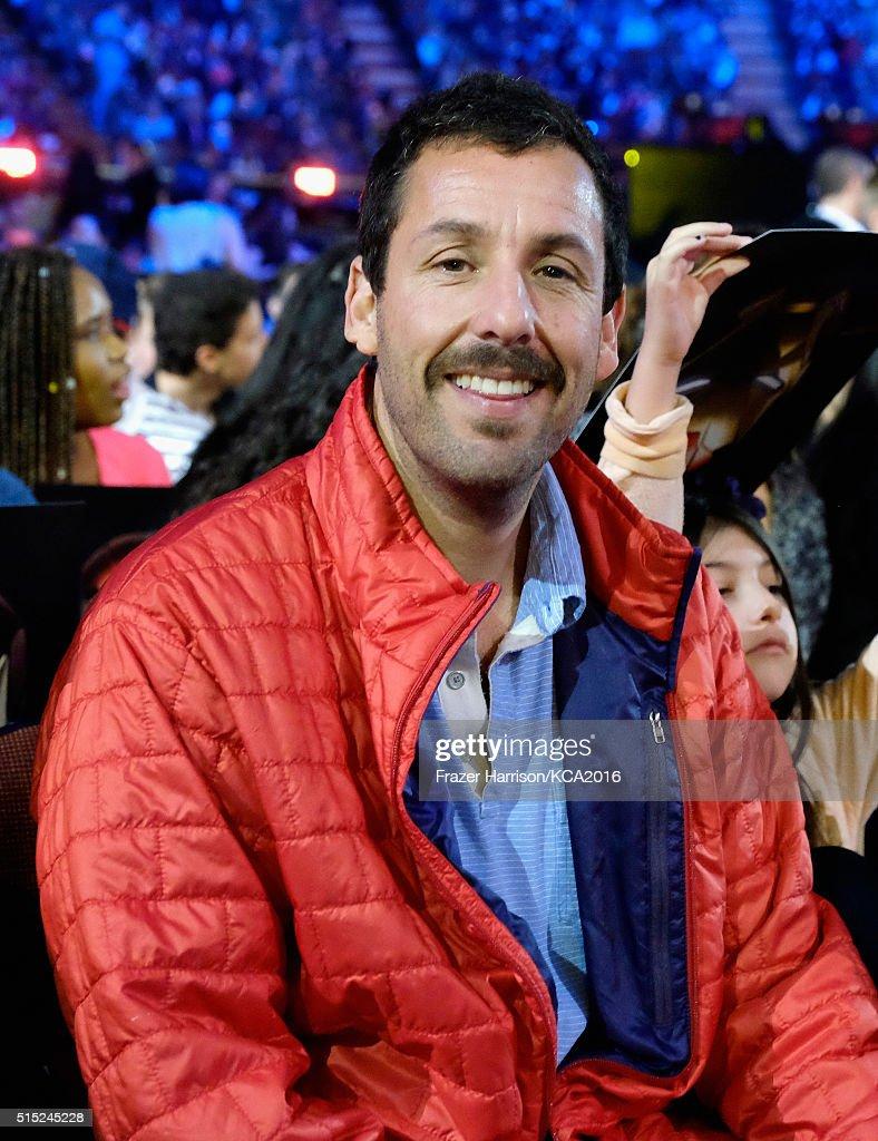 Actor Adam Sandler attends Nickelodeon's 2016 Kids' Choice
