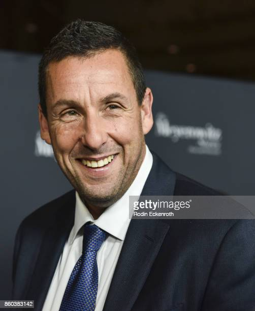 Actor Adam Sandler attends screening of Netflix's 'The Meyerowitz Stories ' at Directors Guild Of America on October 11 2017 in Los Angeles California