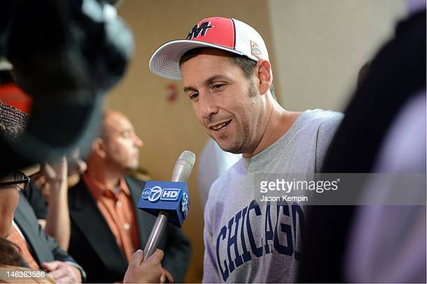 Actor Adam Sandler attends 'That's My Boy' Premiere during TBS Just For Laughs Chicago 2012 Presented By State Farm at the Showplace ICON Theatre on...