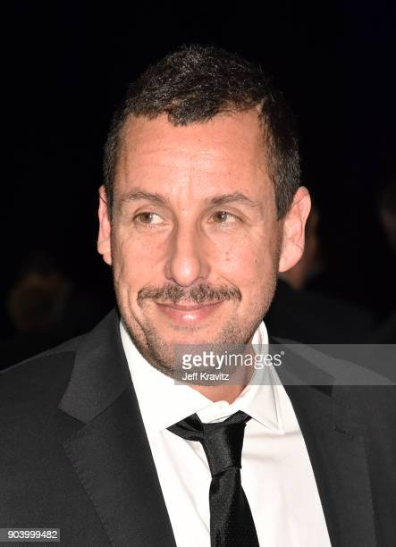 Actor Adam Sandler attends The 23rd Annual Critics' Choice Awards at Barker Hangar on January 11 2018 in Santa Monica California