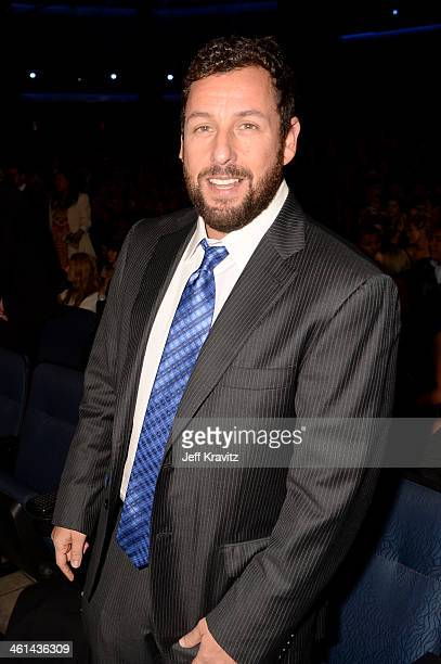 Actor Adam Sandler attends The 40th Annual People's Choice Awards at Nokia Theatre LA Live on January 8 2014 in Los Angeles California