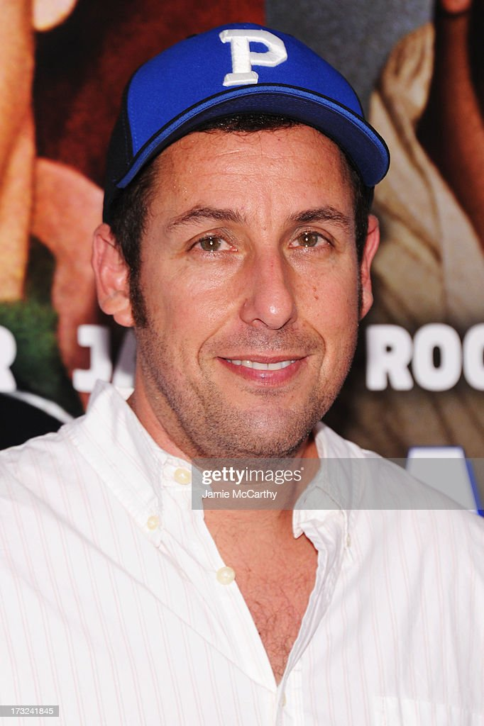 Actor Adam Sandler attends the 'Grown Ups 2' New York Premiere at AMC Lincoln Square Theater on July 10, 2013 in New York City.