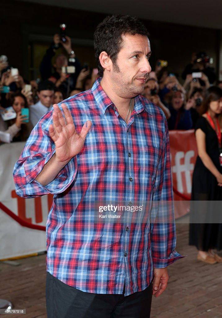 Actor Adam Sandler attends the 'Men, Women & Children' Premiere during the 2014 Toronto International Film Festival at Ryerson Theatre on September 6, 2014 in Toronto, Canada.