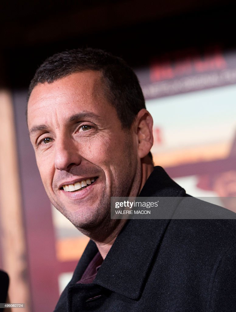 Actor Adam Sandler attends the Premiere of Ridiculous 6, in Universal City, California, on November 30, 2015.