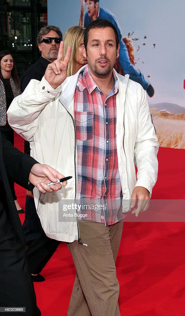 Actor Adam Sandler attends the premiere of the film 'Blended