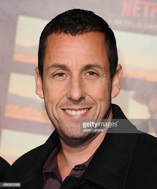 Actor Adam Sandler attends the premiere of 'The Ridiculous 6' at AMC Universal City Walk on November 30 2015 in Universal City California