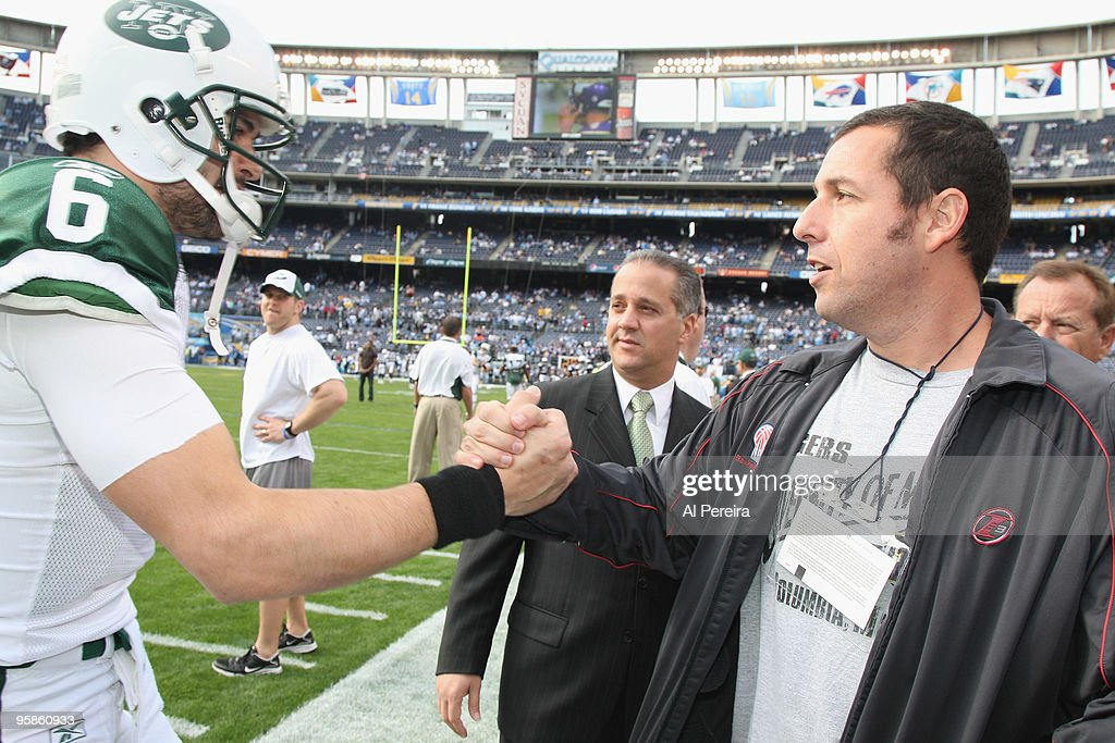 Celebrities Attend NY Jets Vs San Diego Chargers AFC Divisional Playoff