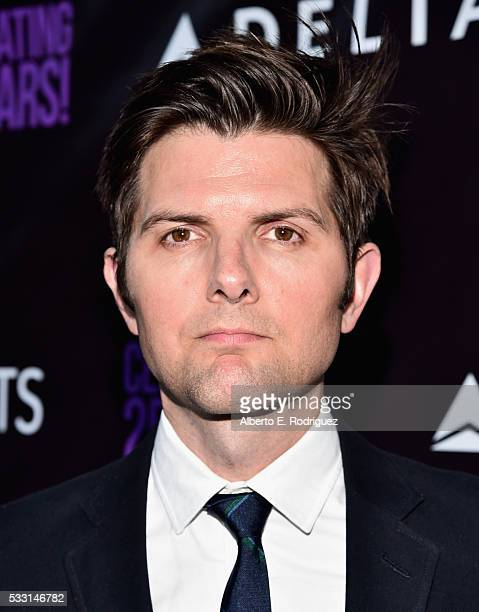 Actor Adam Scott attends PS Arts' The pARTy at NeueHouse Hollywood on May 20 2016 in Los Angeles California