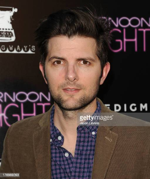 Actor Adam Scott attends the premiere of 'Afternoon Delight' at ArcLight Hollywood on August 19 2013 in Hollywood California