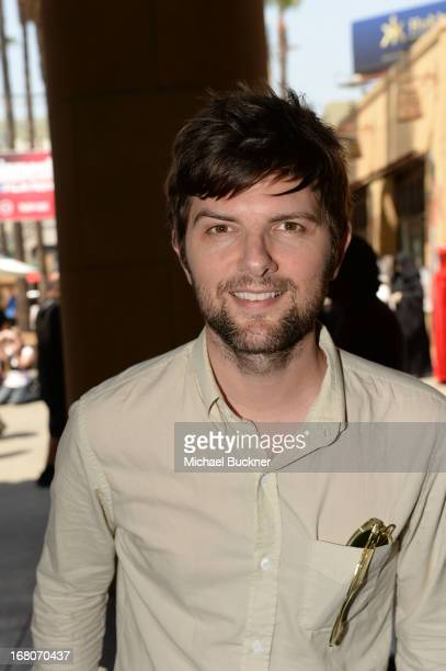 """Actor Adam Scott attends the screening of """"Star Wars: Return of the Jedi"""" during Entertainment Weekly CapeTown Film Festival Presented By The..."""