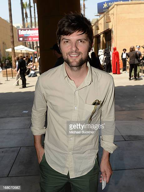 Actor Adam Scott attends the screening of Star Wars Return of the Jedi during Entertainment Weekly CapeTown Film Festival Presented By The American...