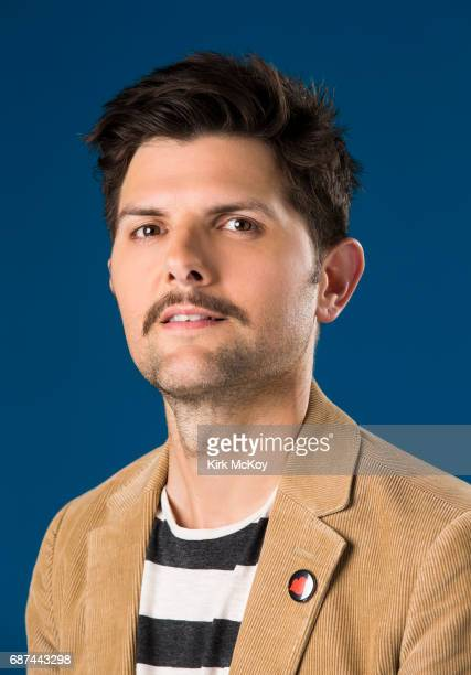 Actor Adam Scott is photographed for Los Angeles Times on May 4 2017 in Los Angeles California CREDIT MUST READ Kirk McKoy/Los Angeles Times/Contour...