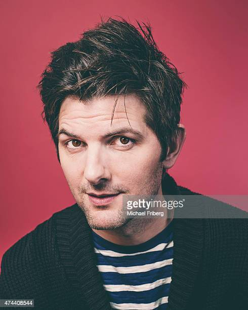 Actor Adam Scott is photographed for Variety on February 3 2015 in Park City Utah