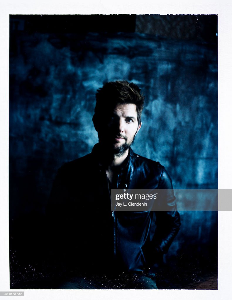 Actor Adam Scott of 'Krampus' is photographed on polaroid film at Comic-Con International 2015 for Los Angeles Times on July 9, 2015 in San Diego, California. PUBLISHED IMAGE.