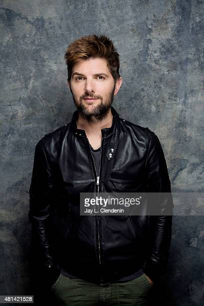 Actor Adam Scott of 'Krampus' poses for a portrait at ComicCon International 2015 for Los Angeles Times on July 9 2015 in San Diego California...