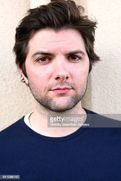 Actor Adam Scott promoting his fim 'The Great Buck Howard' at the 2008 Sundance Film Festival in Park City Utah
