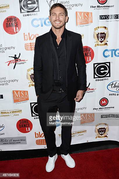 Actor Adam Senn arrives at the World Choreography Awards at The Ricardo Montalban Theatre on November 16 2015 in Hollywood California