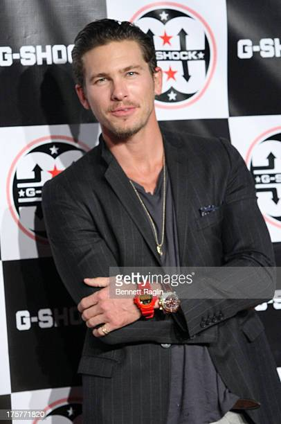 Actor Adam Senn attends GShock Shock The World 2013 at Basketball City Pier 36 South Street on August 7 2013 in New York City