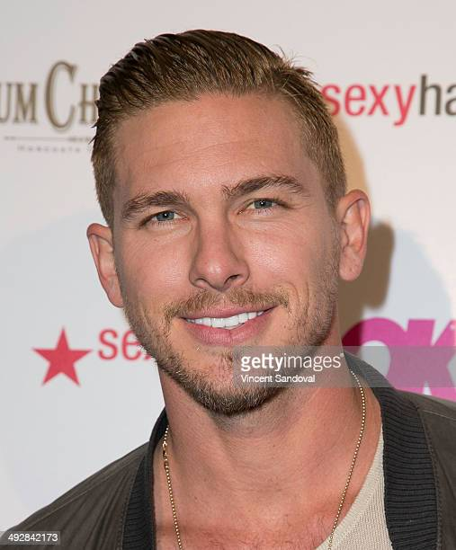 Actor Adam Senn attends OK Magazine's 'So Sexy' LA event at Lure on May 21 2014 in Hollywood California