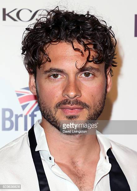 Actor Adan Canto attends BritWeek's 10th Anniversary with a performance of 'Muder Lust and Madness' at the Wallis Annenberg Center for the Performing...