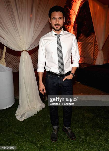 Actor Adan Canto attends NDRC Food For Thought Benefit celebrating safe and sustainable eating on May 29 2014 in Santa Monica California