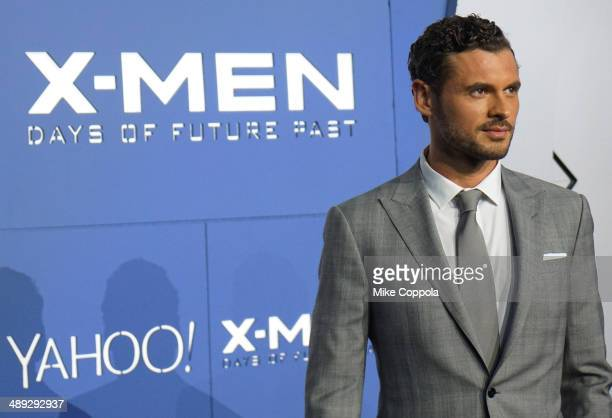 Actor Adan Canto attends the 'XMen Days Of Future Past' world premiere at Jacob Javits Center on May 10 2014 in New York City