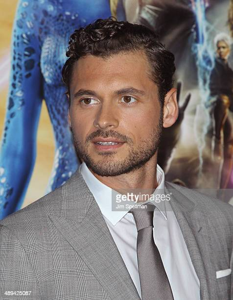 Actor Adan Canto attends the 'XMen Days Of Future Past' World Premiere Outside Arrivals at Jacob Javits Center on May 10 2014 in New York City