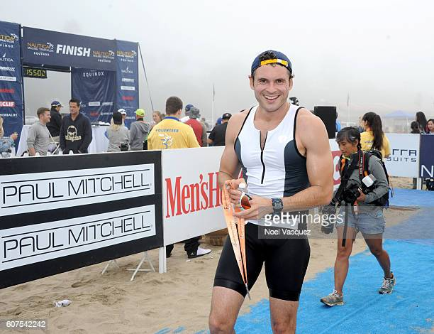 Actor Adan Canto participates in the Nautica Malibu Traithalon presented by Equinox at Zuma Beach on September 18 2016 in Malibu California