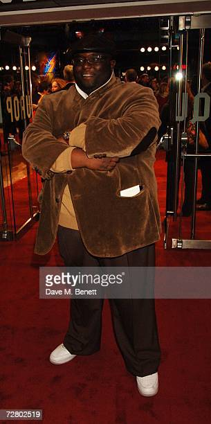 Actor Ade arrives at the World premiere of 'Eragon' held at Odeon Leicester Square on December 11 2006 in London England