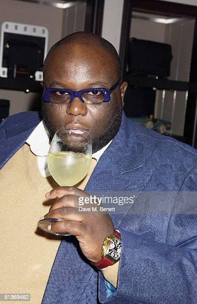 Actor Ade attends the 'Vanity Fair' Private Party at Dunhill on September 28 2004 in London